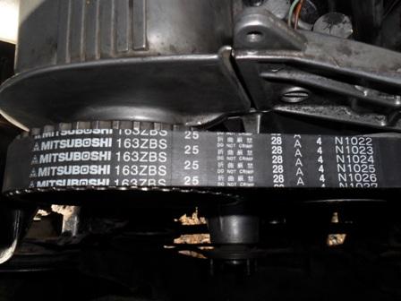 Cambio correa de distribucion y retenes delanteros T047qt