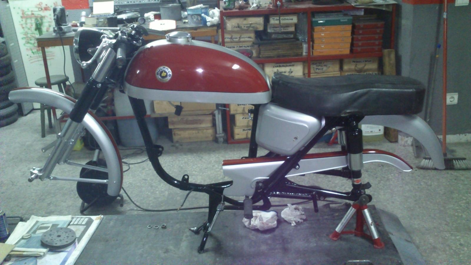 De vuelta a la carretera: Bultaco Tralla 102 Vih5so