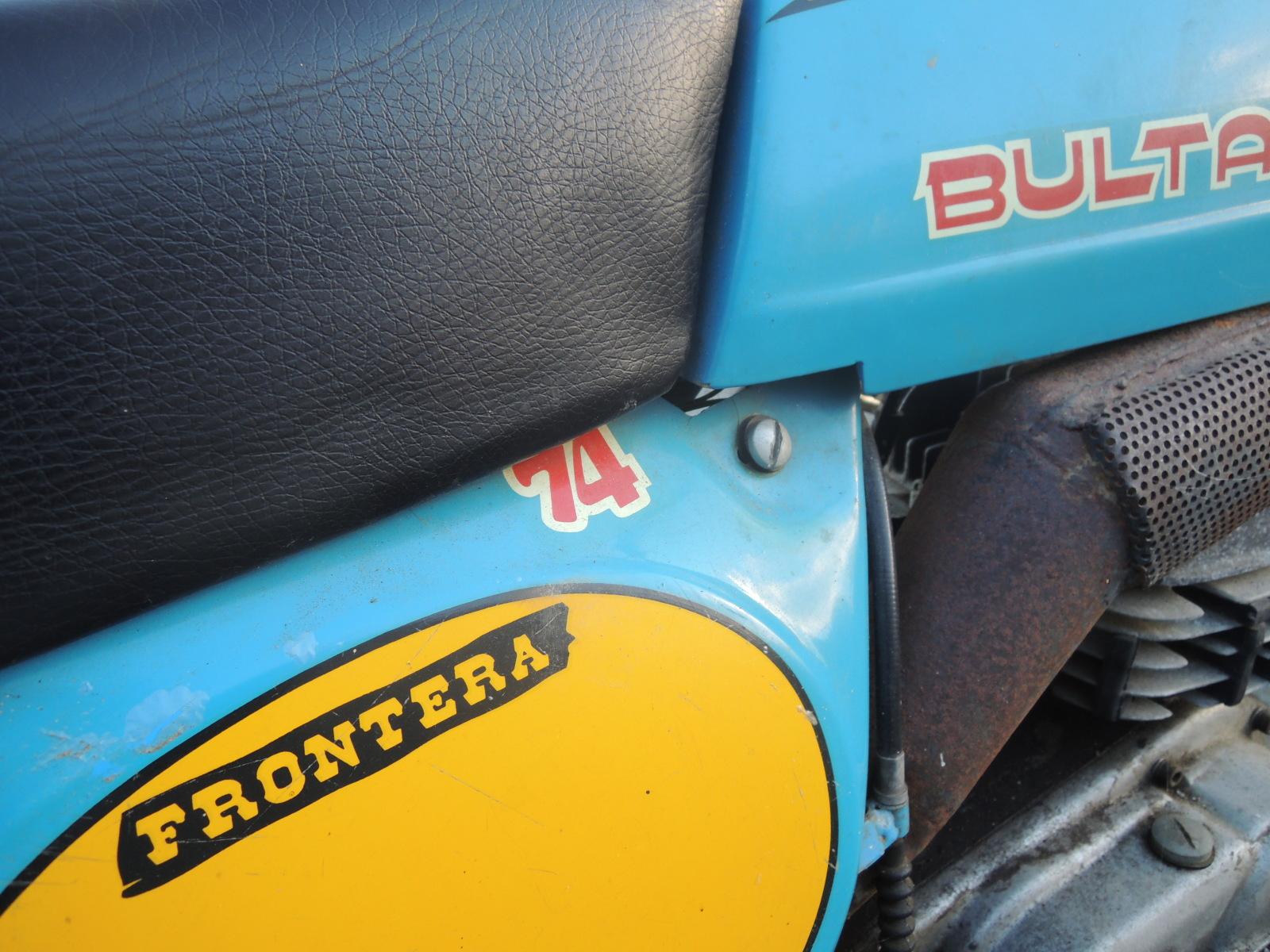 Bultaco Frontera - La Fronterita De Rafa Vzhldk