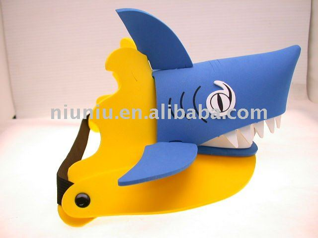 visera - visera tiburon W1u2c4