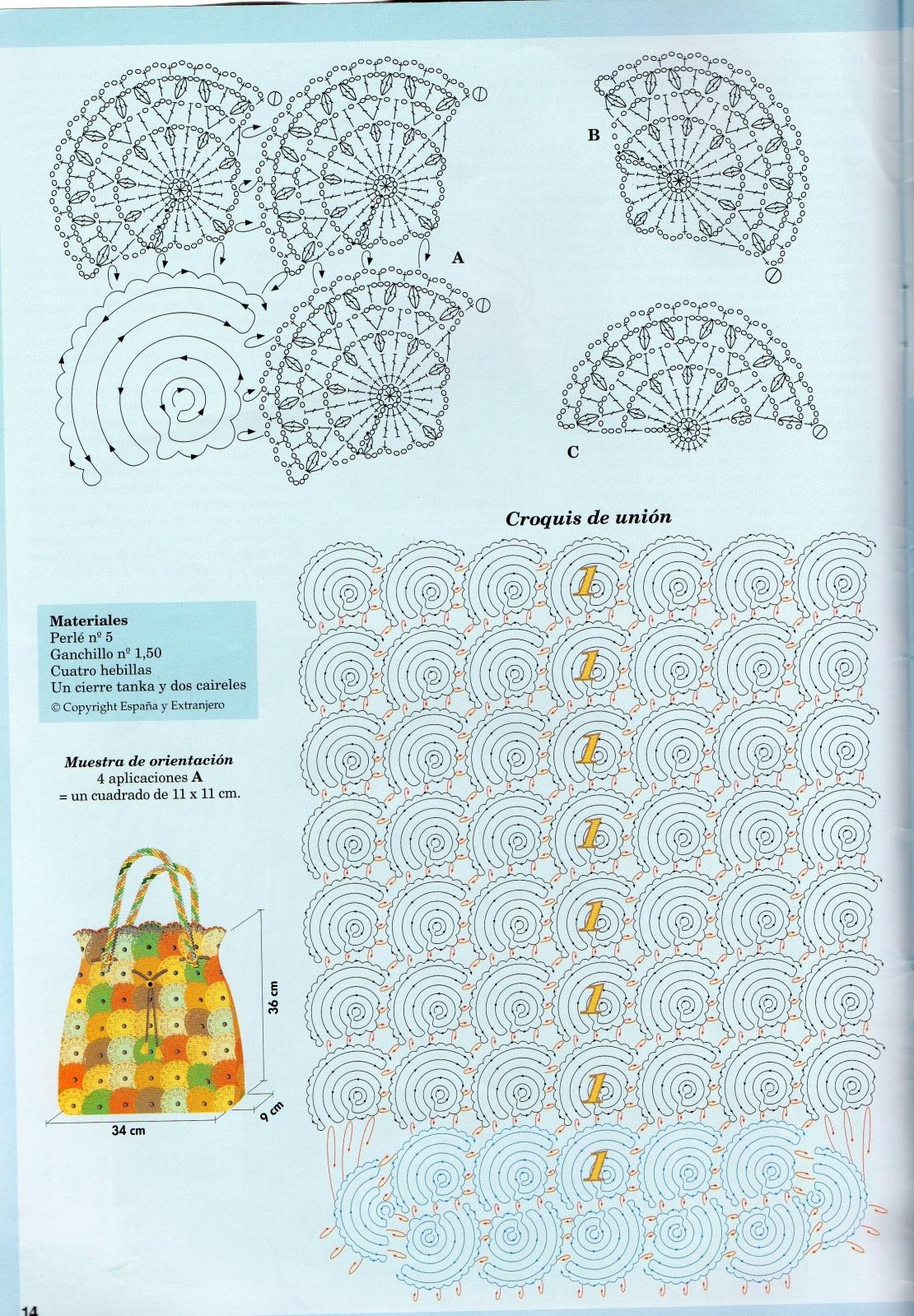 patrones de bolsos Wl40te