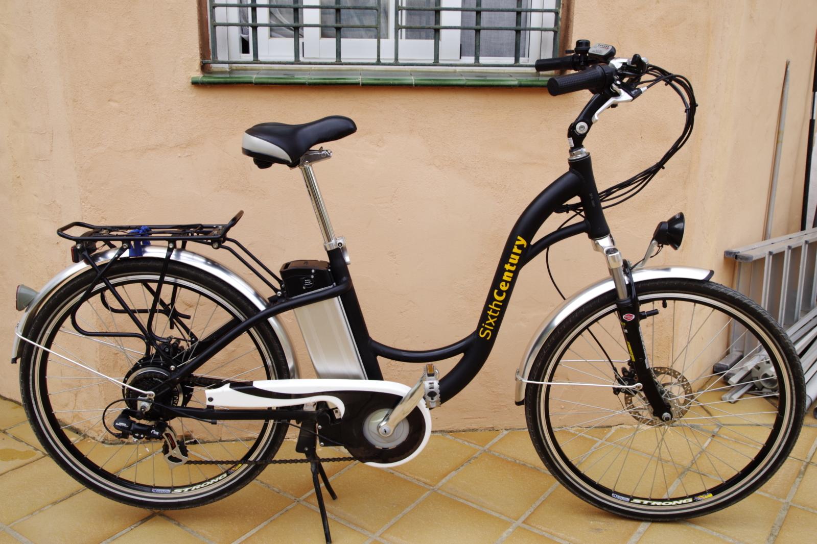 Vendida bicicleta Sixth Century Wrf2nr