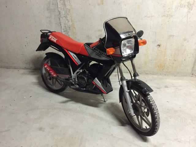 Estoy de limpieza en el garage y vendo 2 motos!! Wu2aux