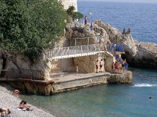 Nice: Quai des Etat Unis -  Raba Capeou - Colline du château 14cworl