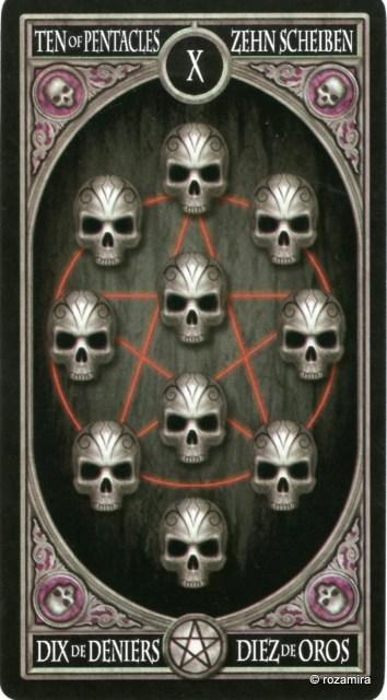 Готическое Таро Анны Стокс /Anne Stokes Gothic Tarot   (скан карт) 10726mq