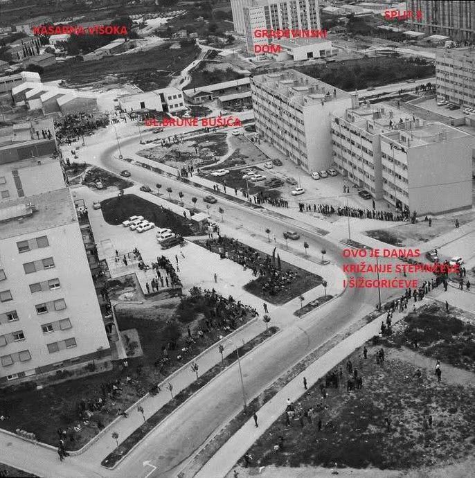 SPLIT 'Dalmatinskih brigada' Visoka 1986/1987 10fc5te