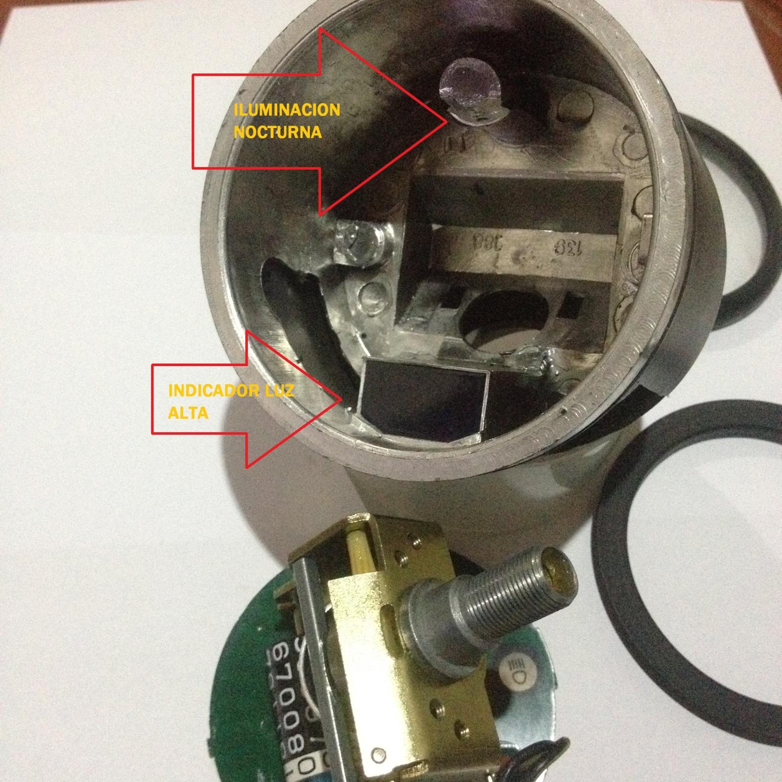 Conoce tu odometro y velocimetro, ademas de por que la luz del neutro no se ve en el dia. 10zbf6b