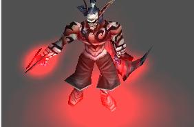 Demon Hunter Skeleton Mask 118dt90