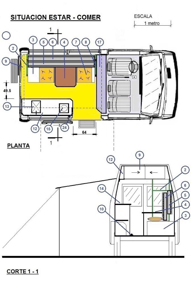 MODELO PARA ARMAR 3 -De Trafic corta/alta a MicroMotorhome. 11blt77