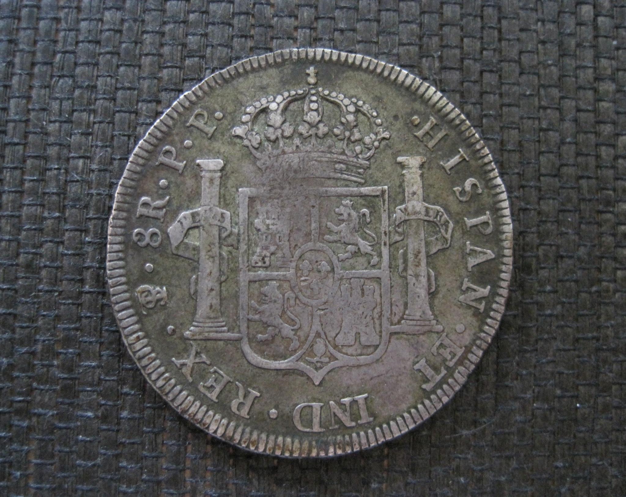 8 Reales 1800 de Potosí 122dte8
