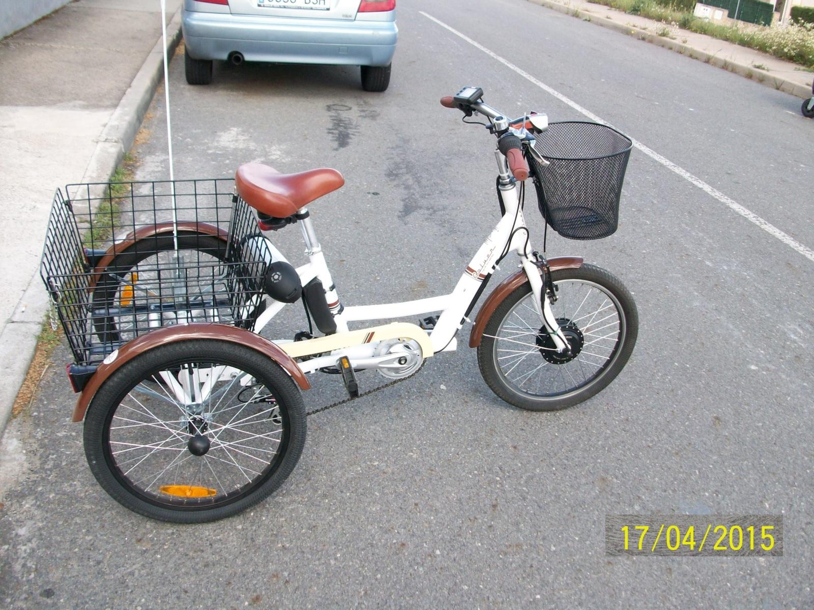 Electrificación Triciclo Coluer Cargo Lux 1586zr7