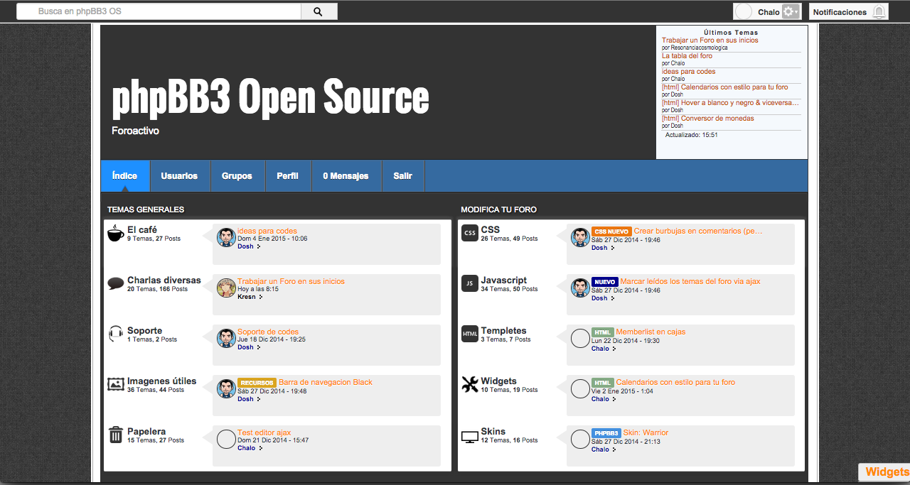 phpBB3 Open Source 15dnwxy