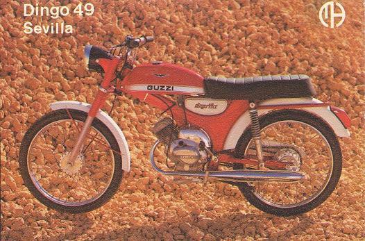 Moto-Guzzi Hispania Dingo - Todos los modelos 1sin9u
