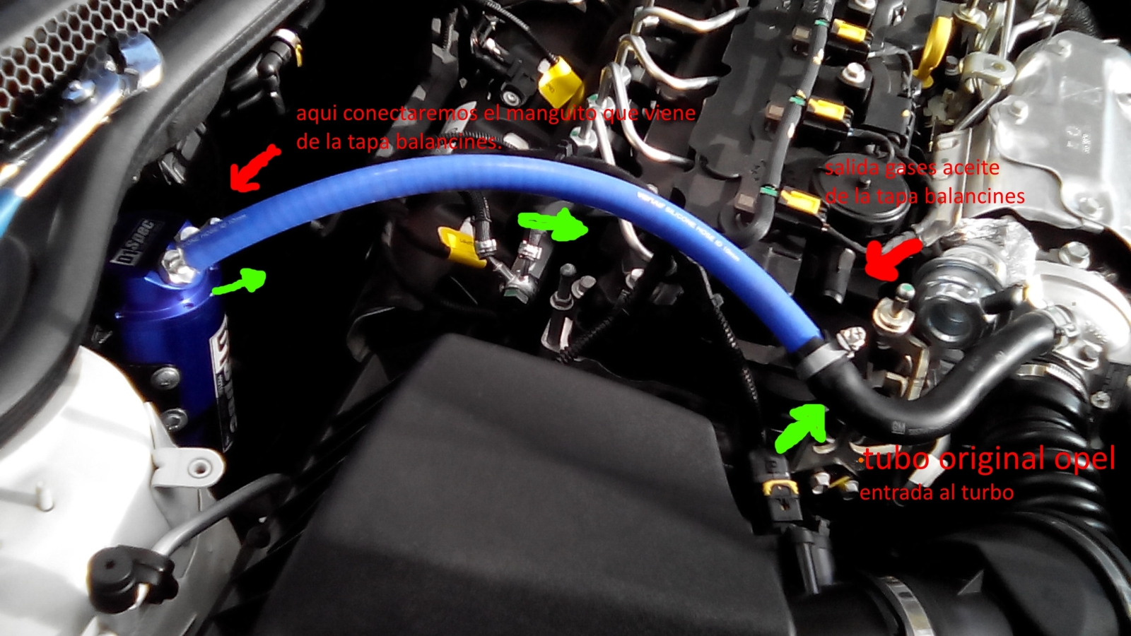 [BRICO J] Instalar decantador de aceite al motor 1.6 CDTI 1z4wz1x
