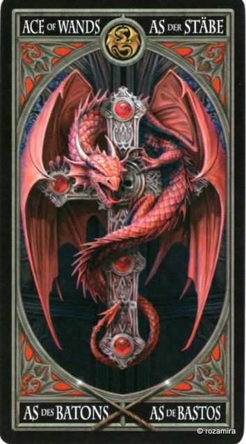Готическое Таро Анны Стокс /Anne Stokes Gothic Tarot   (скан карт) 1z5461e