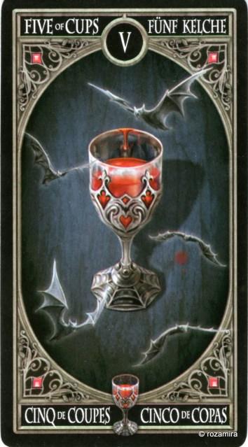 Готическое Таро Анны Стокс /Anne Stokes Gothic Tarot   (скан карт) 21l72vo