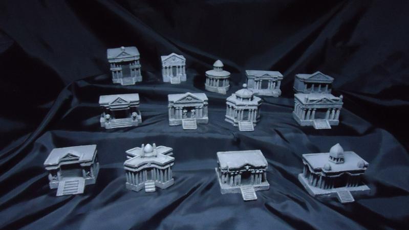 [Venda ] 12 casas miniatura Santuário 24g7dvr