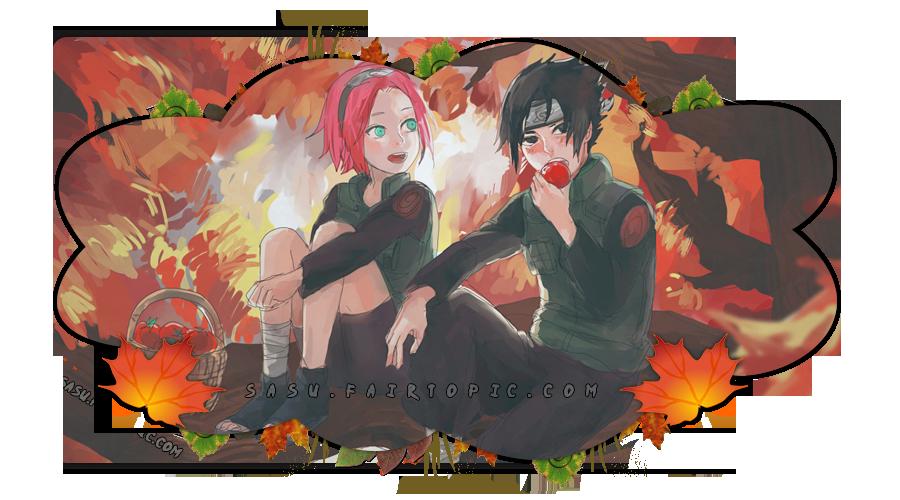 Anime. Naruto. Sasuke & Sakura