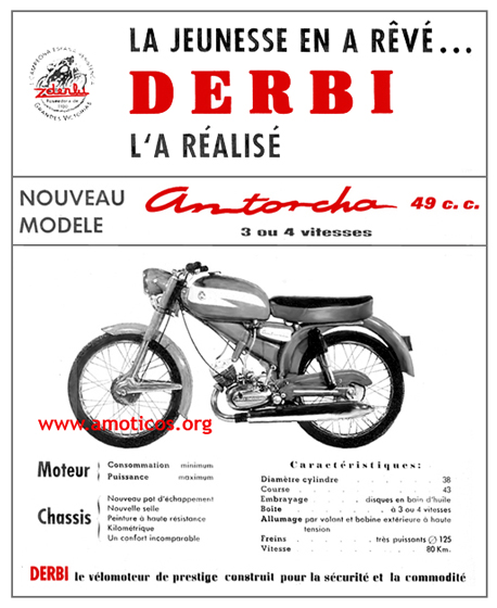 "Restauración Derbi ""Carreras Cliente"" 25fjc69"