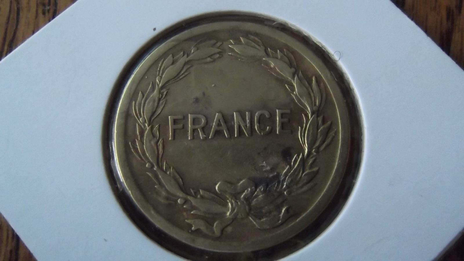 "2 Francs ""France libre"" 1944 25zrswi"