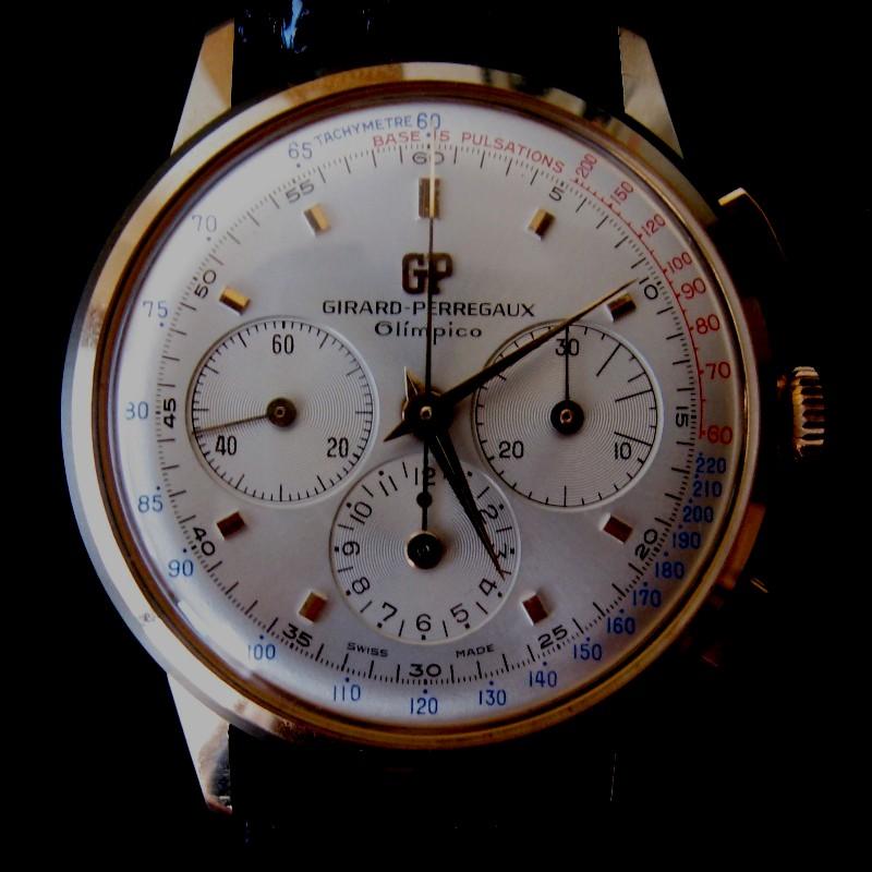 Girard-Perregaux Olimpico...revue complément d'enquête... 263g84g