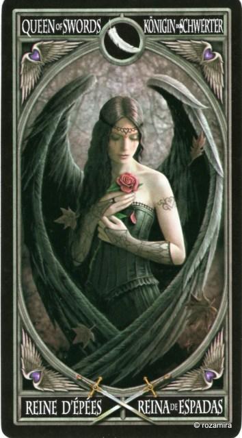 Готическое Таро Анны Стокс /Anne Stokes Gothic Tarot   (скан карт) 2a9cu4n