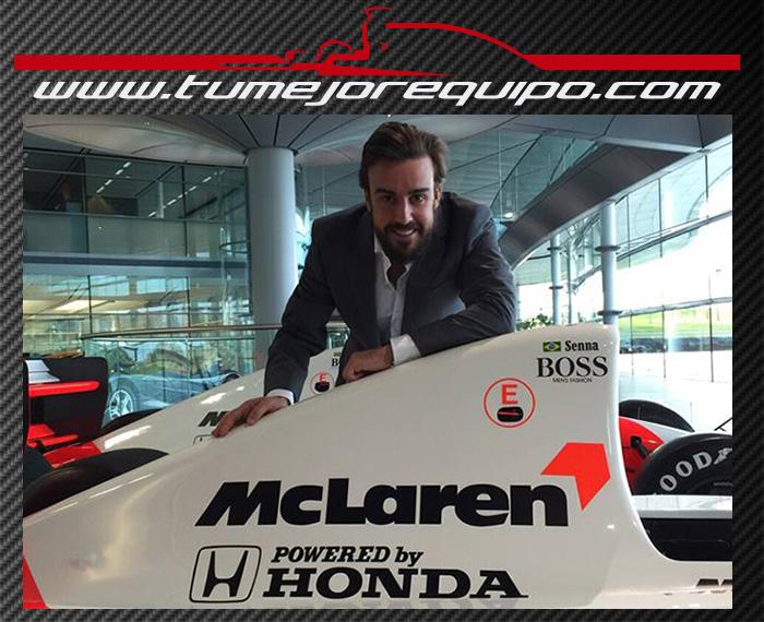 """Fernando Alonso: """"Que regrese la leyenda: ese es nuestro desafío"""" 2aj885w"""