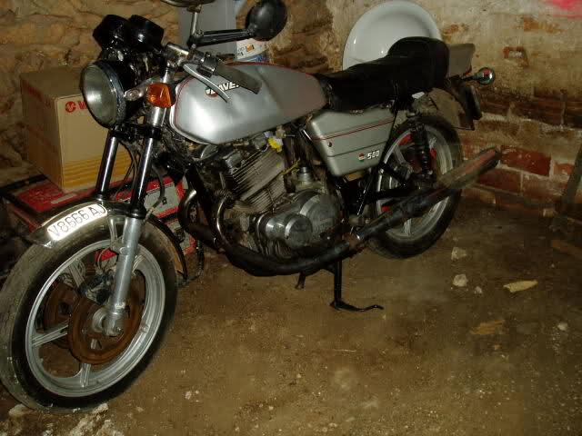 Mi nueva Laverda 500 2by1w7