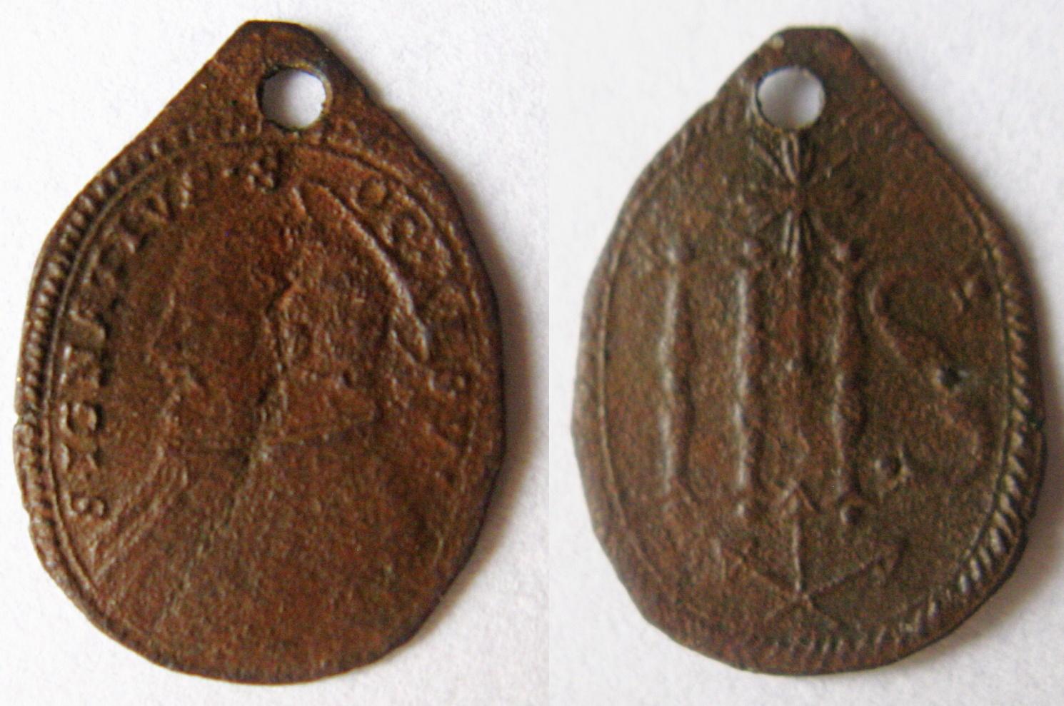 San Ignacio de Loyola / Monograma de Jesús 2d778ee