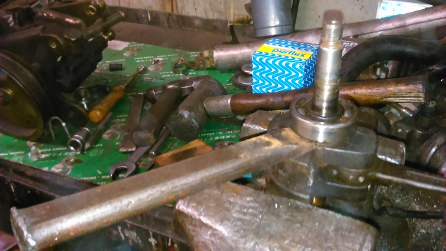 Reparación para restauración en Mobylette AV-88 (Rodamientos, retenes, cilindro...) 2emj68x