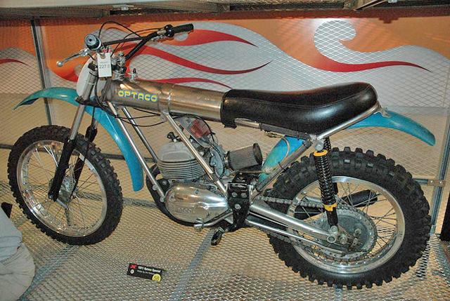 Una Bultaco muy especial: la Optaco 2ev5bfl