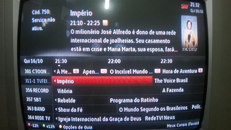 Canal Aberto Digital, sinal digital, na SKY 2heases