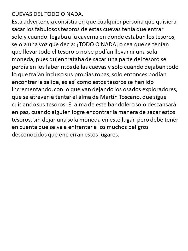 REFLEXION SOBRE MARTIN TOSCANO Y SU TESORO 2i731hz