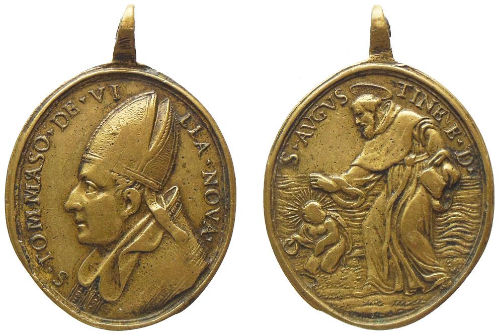 Santo Tomás de Villanueva / San Agustín de Hipona (R.M. SXVIII-O271) 2i8c502