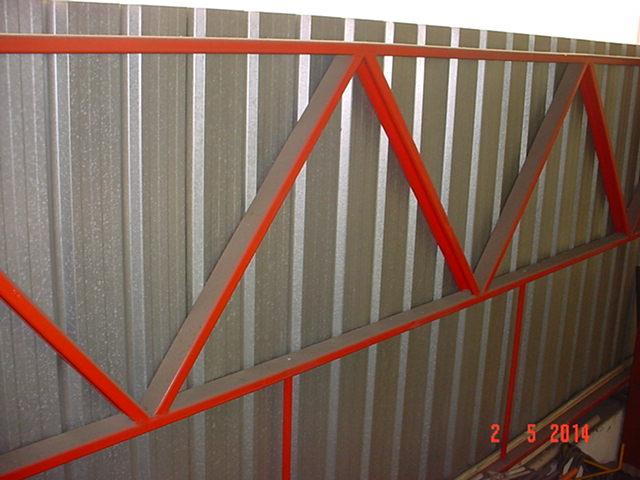techo - Estructura de Perfiles C para techo de chapa 2igekv9