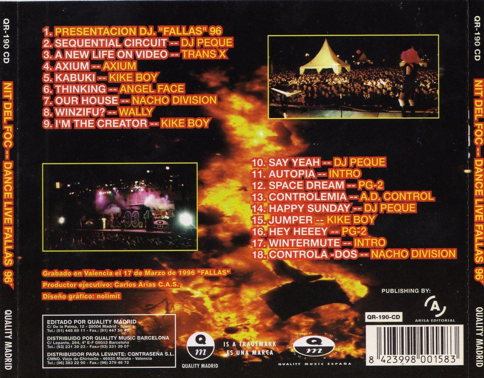 NIT DEL FOC - 1996 - COMPILATION - 192KBPS - QUALITY MADRID 2isa7m8