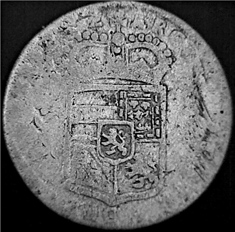 4 Patards (= 4 stuivers = 4 sols ) de Carlos II, 2j0jmyu