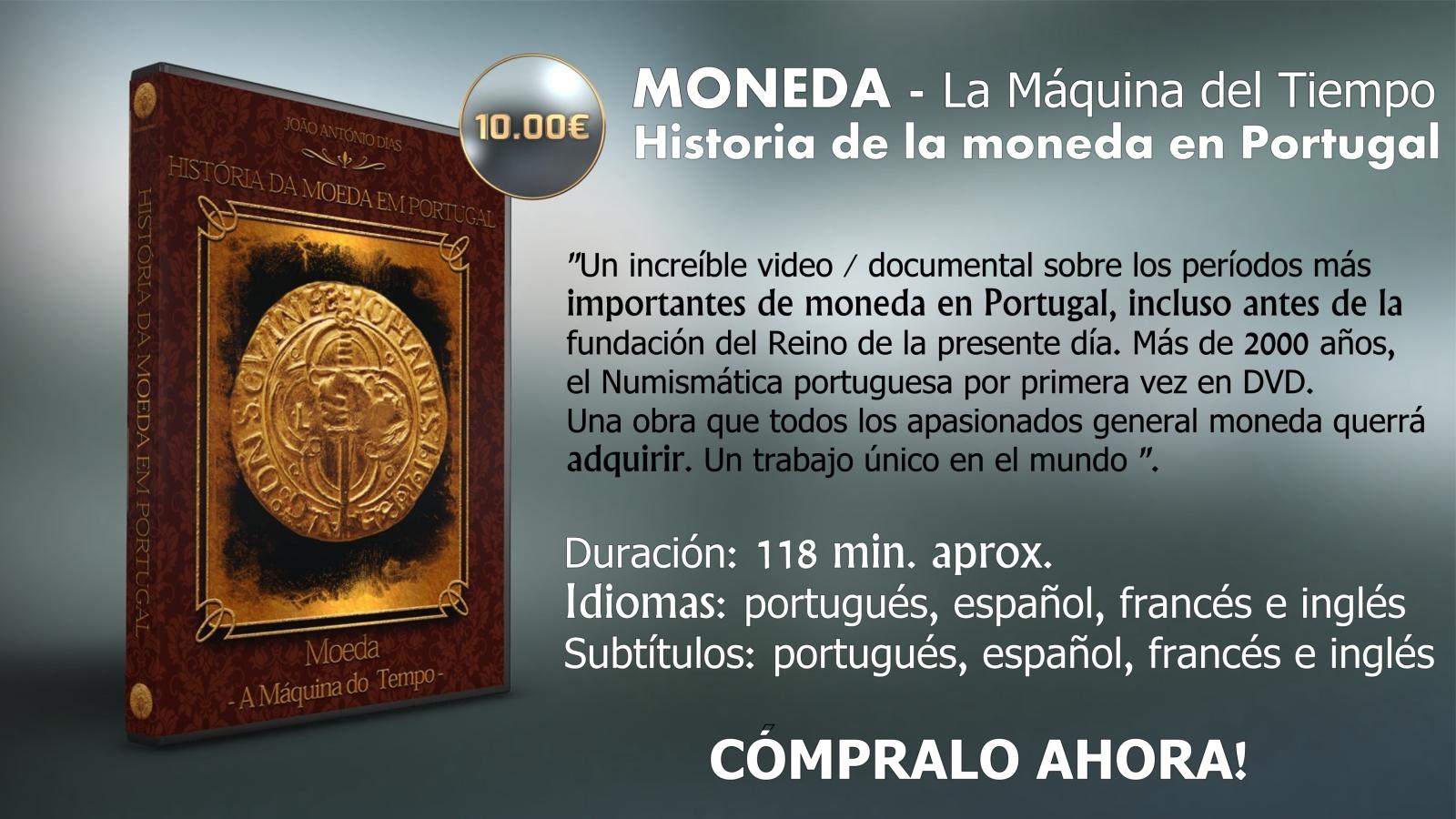 YA DISPONIBLE EL DVD HISTORIA DE LA MONEDA EN PORTUGAL 2jam87t