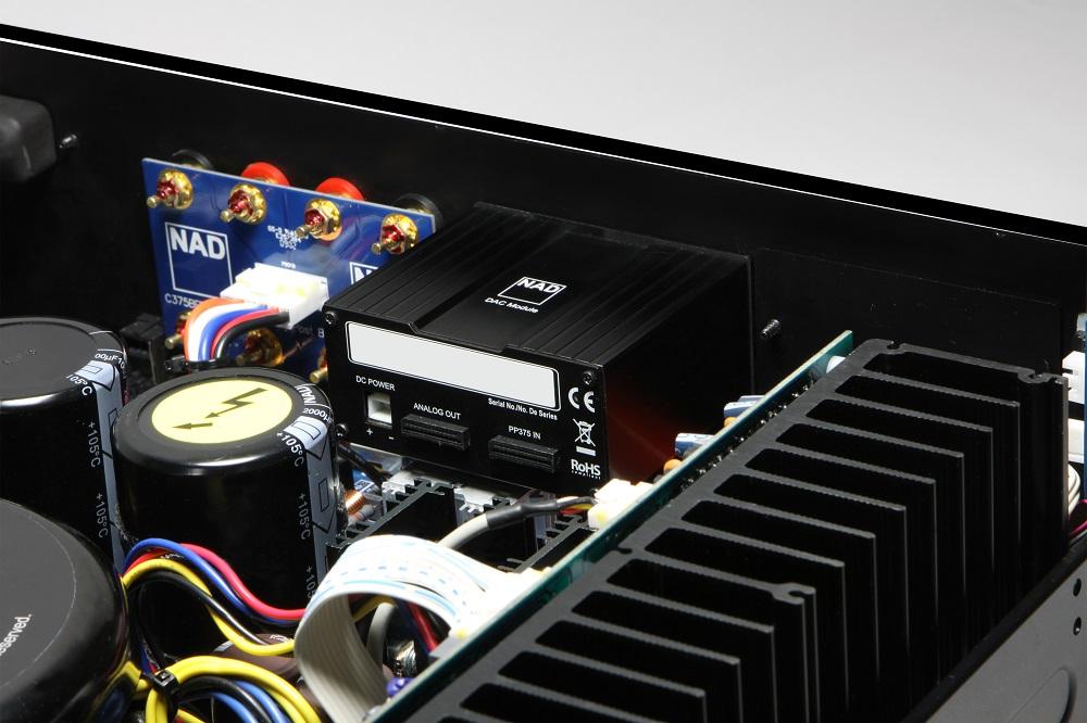 ¿QUÉ AMPLIFICADORES STÉREO HAY CON ENTRADA USB Y DAC INCORPORADO? 2jc94hs