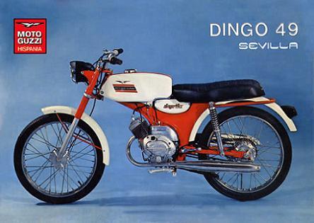 Moto-Guzzi Hispania Dingo - Todos los modelos 2ldvmn5