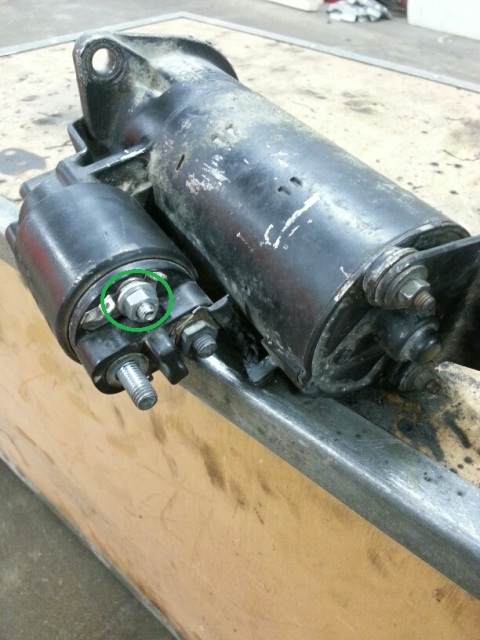 Koppla in M20 startmotor 2lkb4gz