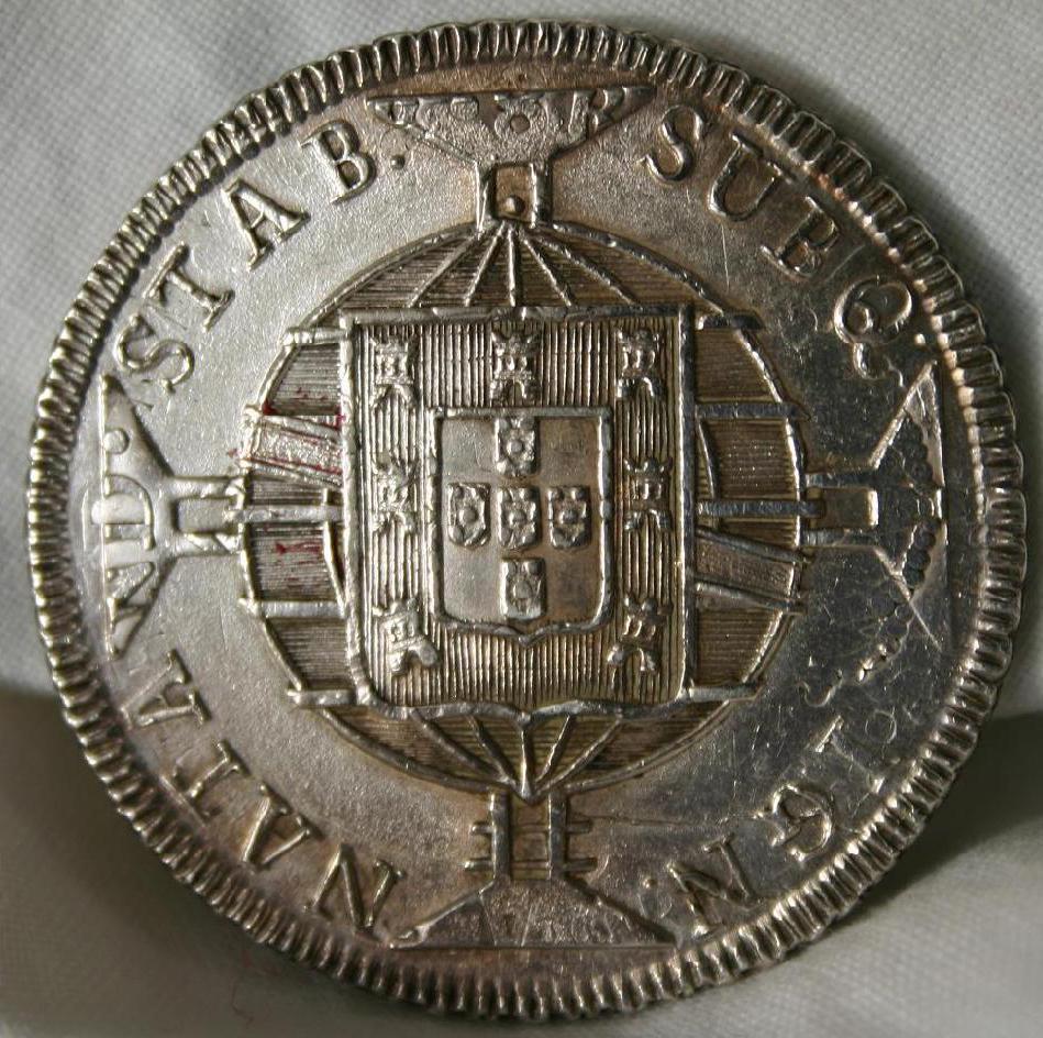 960 Reis 1819 brasileños acuñados sobre 8 Reales 1813 de Fernando VII - Página 2 2lviuyr