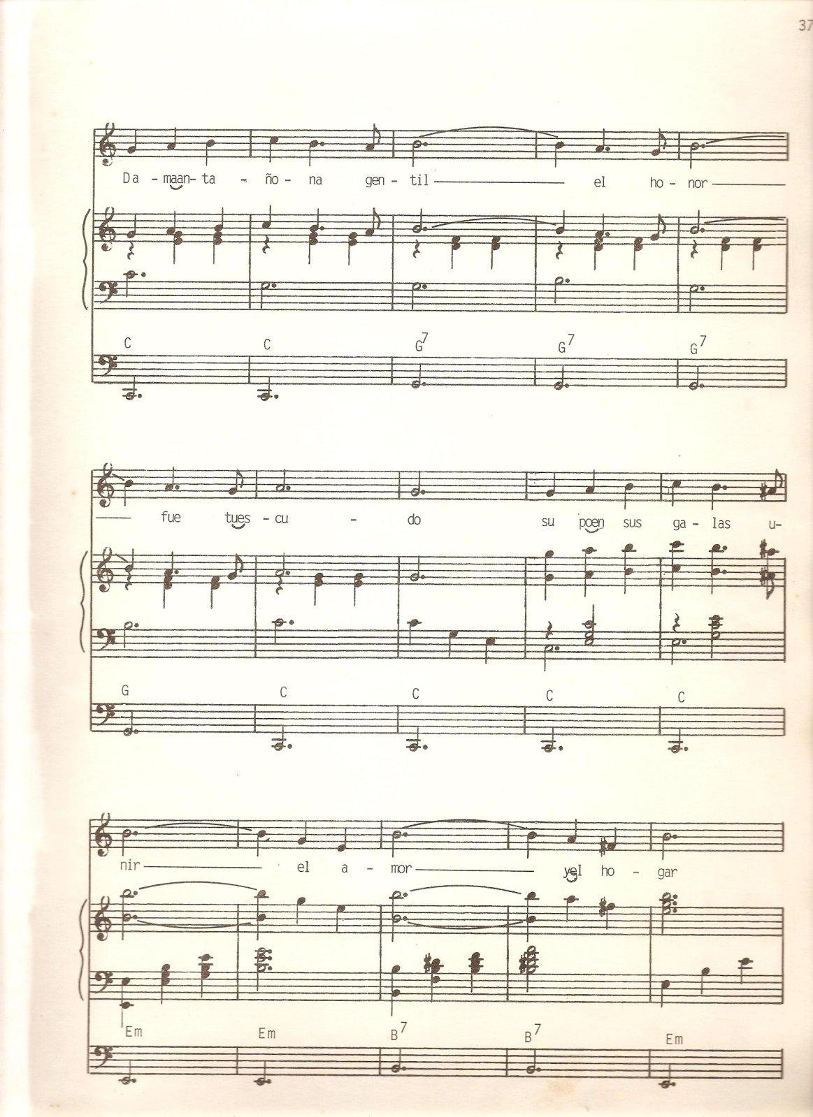 partituras - [Partituras] | Francisco de Paula Aguirre - Dama Antañona 2n9xt8i
