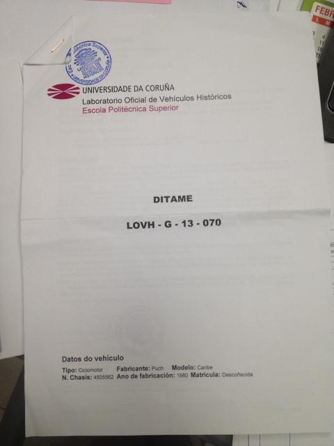 Puch Caribe - Precio Matriculación Y Restauración En Galicia 2q907xu