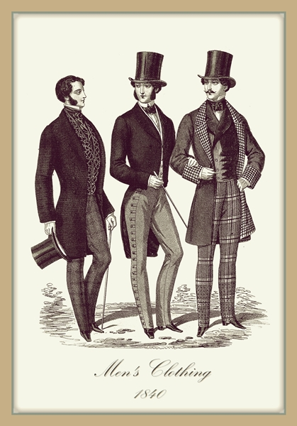Imágenes de Indumentaria del periódo Romántico (1830-1850 aprox.) 2qvz98y