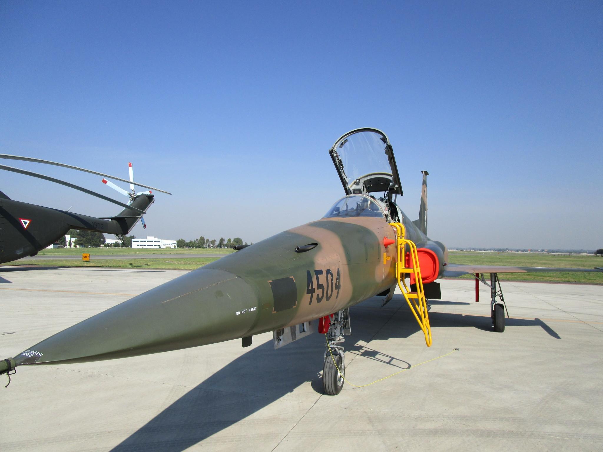 Northrop F-5E/F caza supersónico mexicano parte II 2r23khh