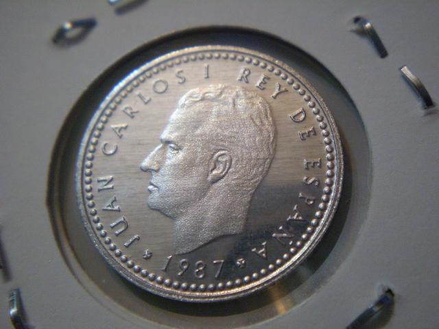 1 Peseta 1987-E87 Juan Carlos I 2rlygd4