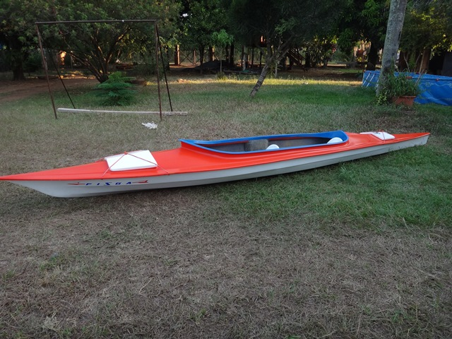 "Vendo Kayak Doble Abierto ""BAUM"" Travesía 2s17tc7"
