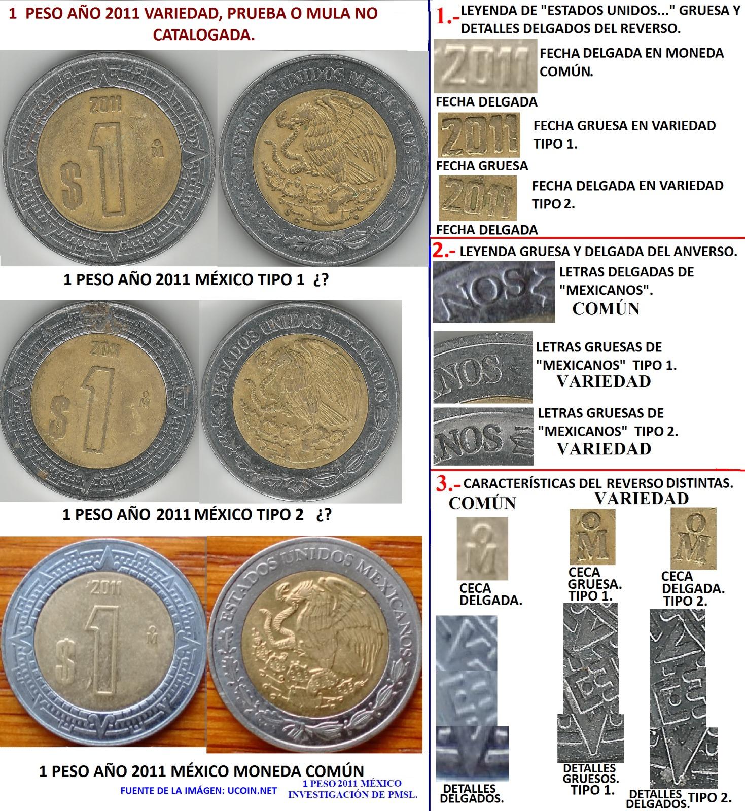 Pesos Mexicanos Actuales: últimos descubrimientos más raros. 2uj4lk6
