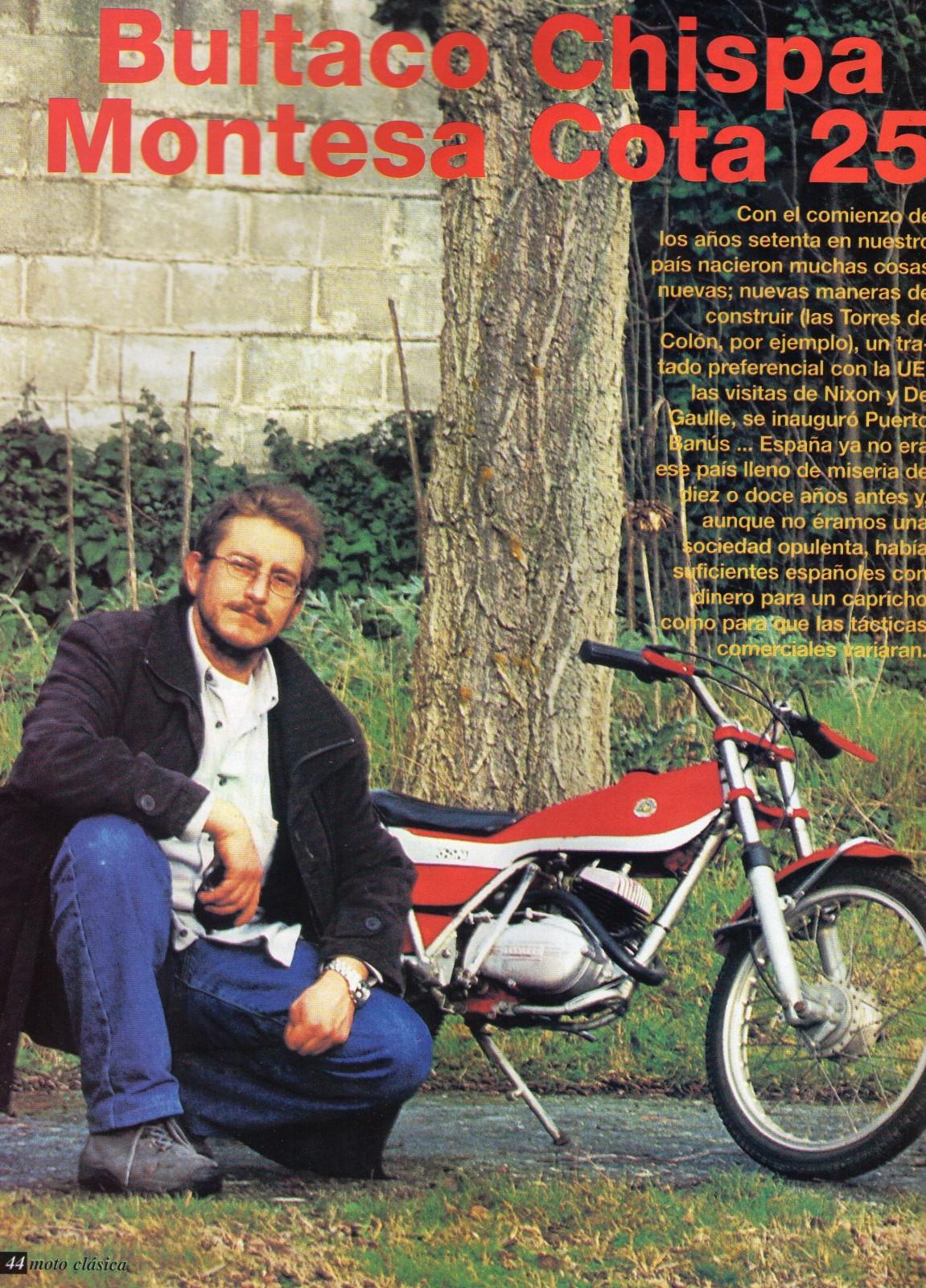 Comparativa Cota 25 con Bultaco chispa 2uyqc06